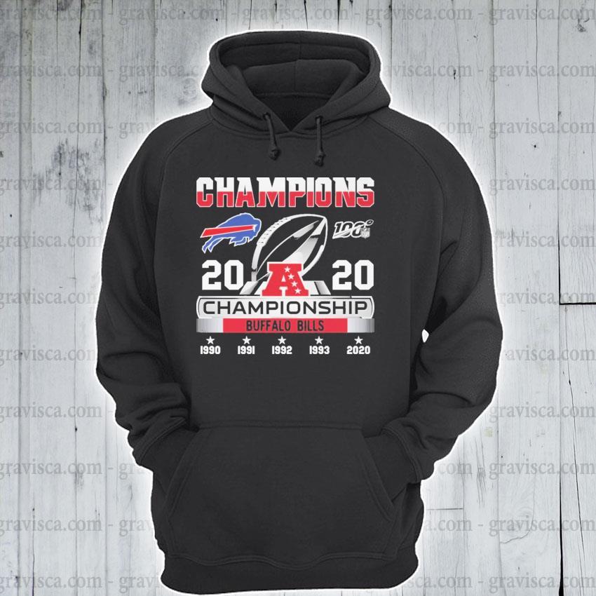 Champions 2020 Championship Bills s hoodie