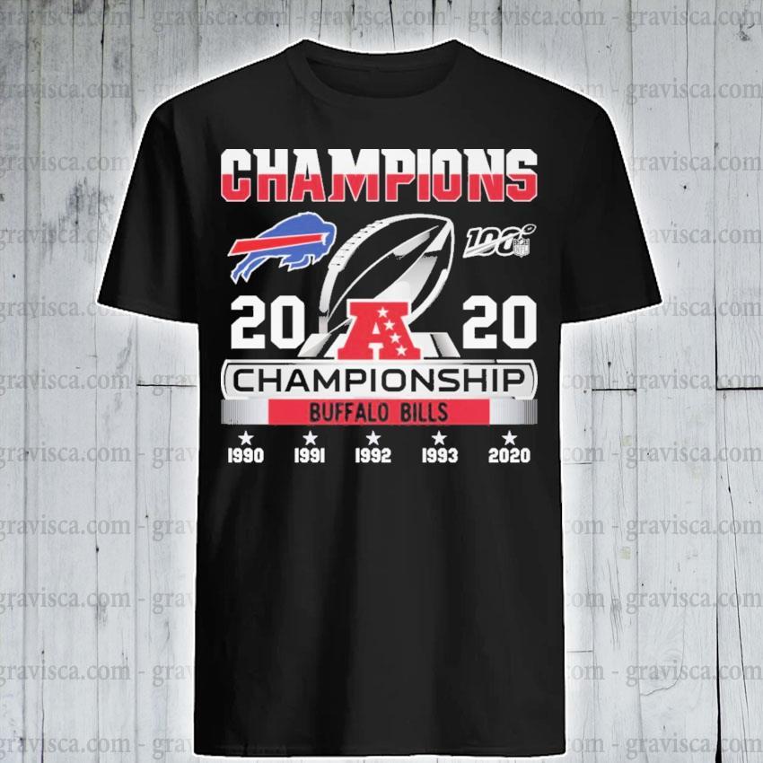 Champions 2020 Championship Bills shirt