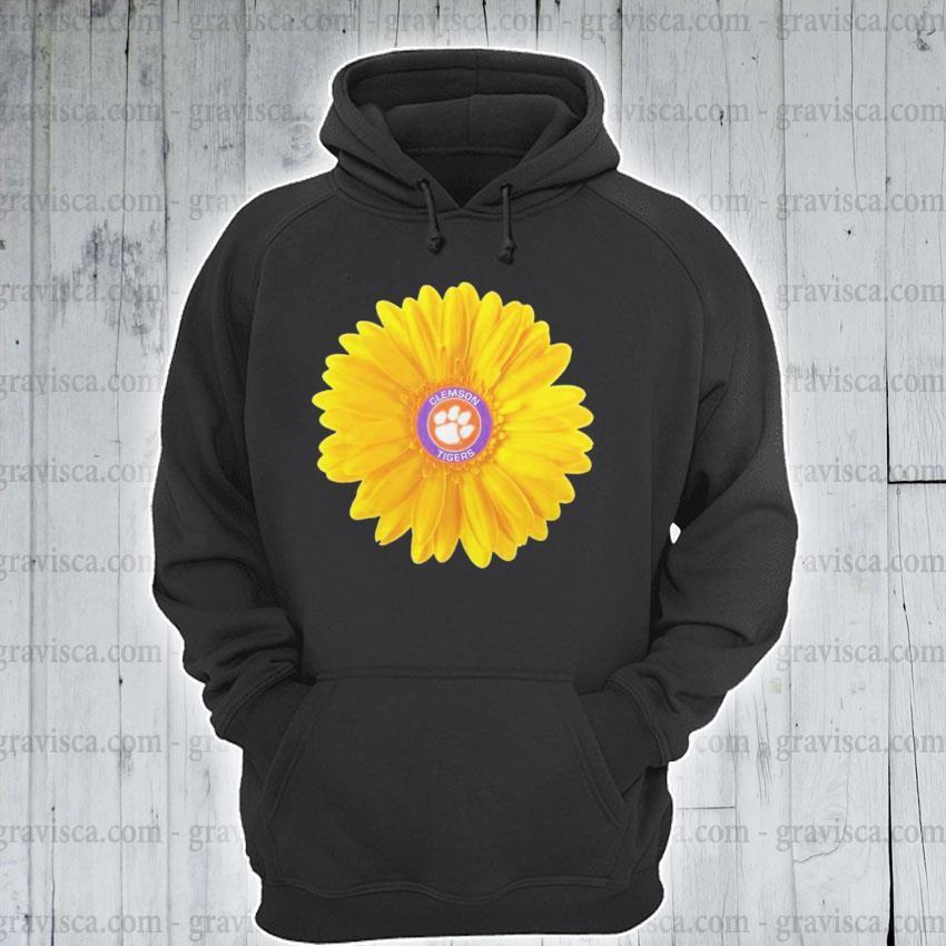 Clemson tigers football sunflower s hoodie