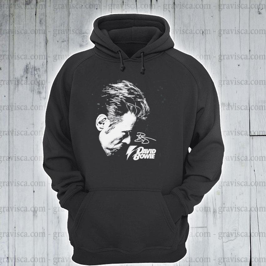 David Bowie Signature s hoodie