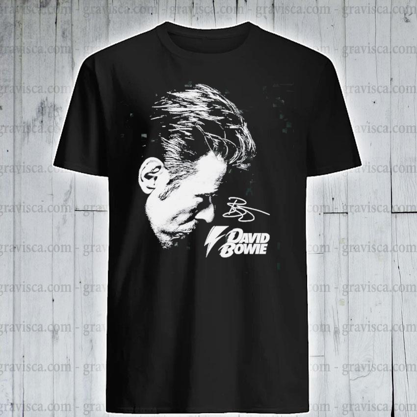 David Bowie Signature shirt