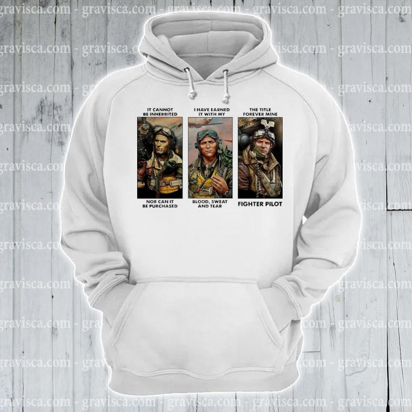 It cannot be inherited I have earned it with my fighter pilot s hoodie