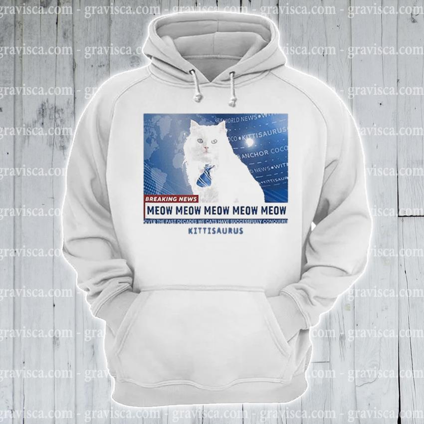 Kittisaurus news anchor coco s hoodie