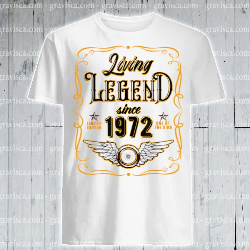 Living legend since 1972 48th birthday shirt