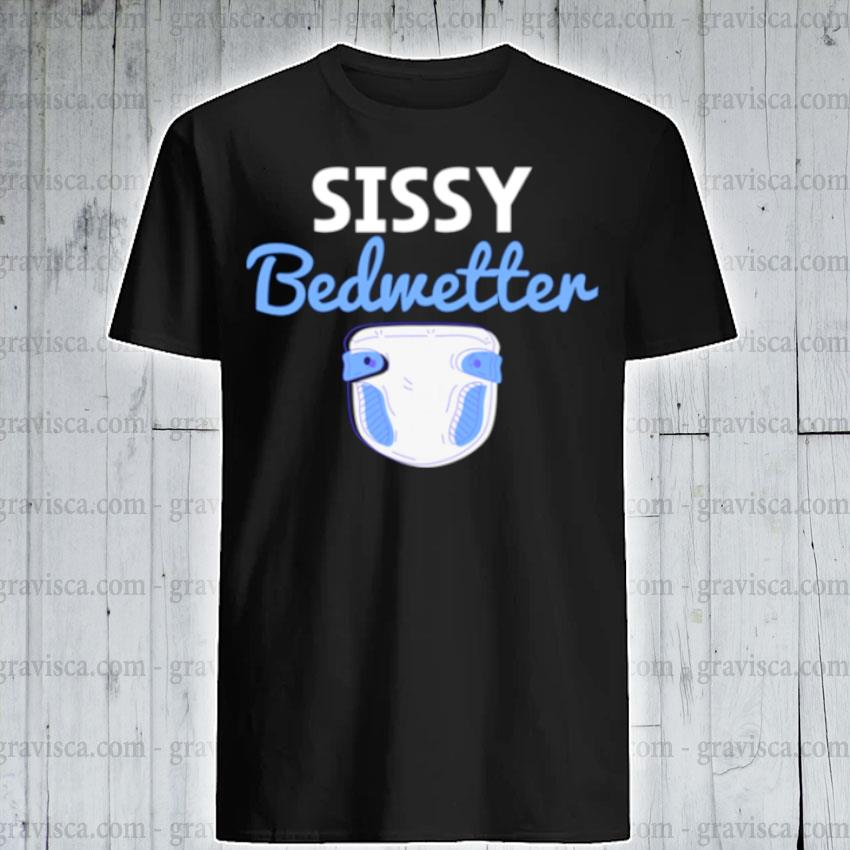 Sissy bedwetter boy wet bed shirt