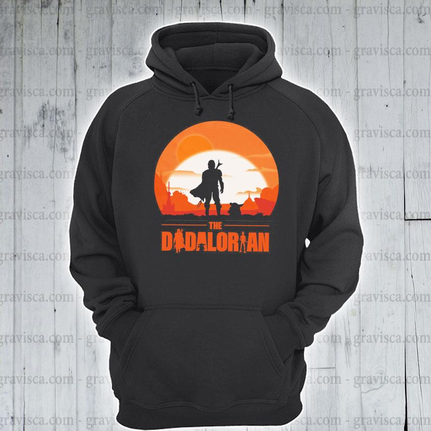 The Dadalorian and Yoda Sunset 2021 s hoodie