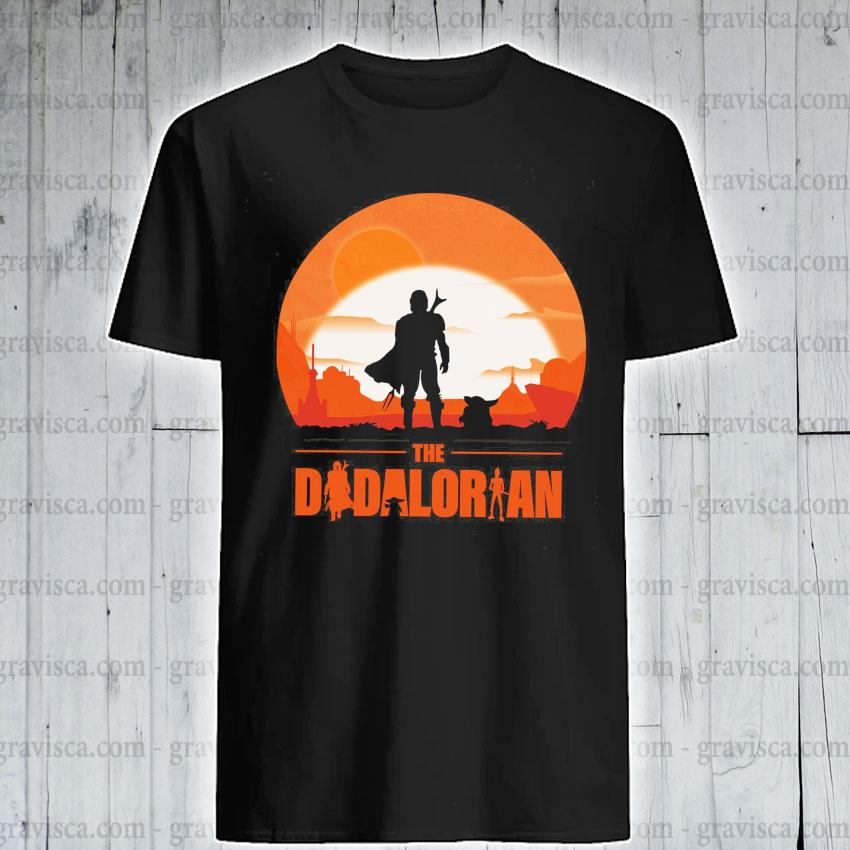 The Dadalorian and Yoda Sunset 2021 shirt