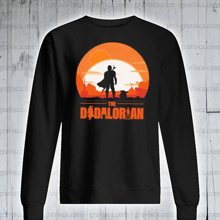The Dadalorian and Yoda Sunset 2021 s sweatshirt