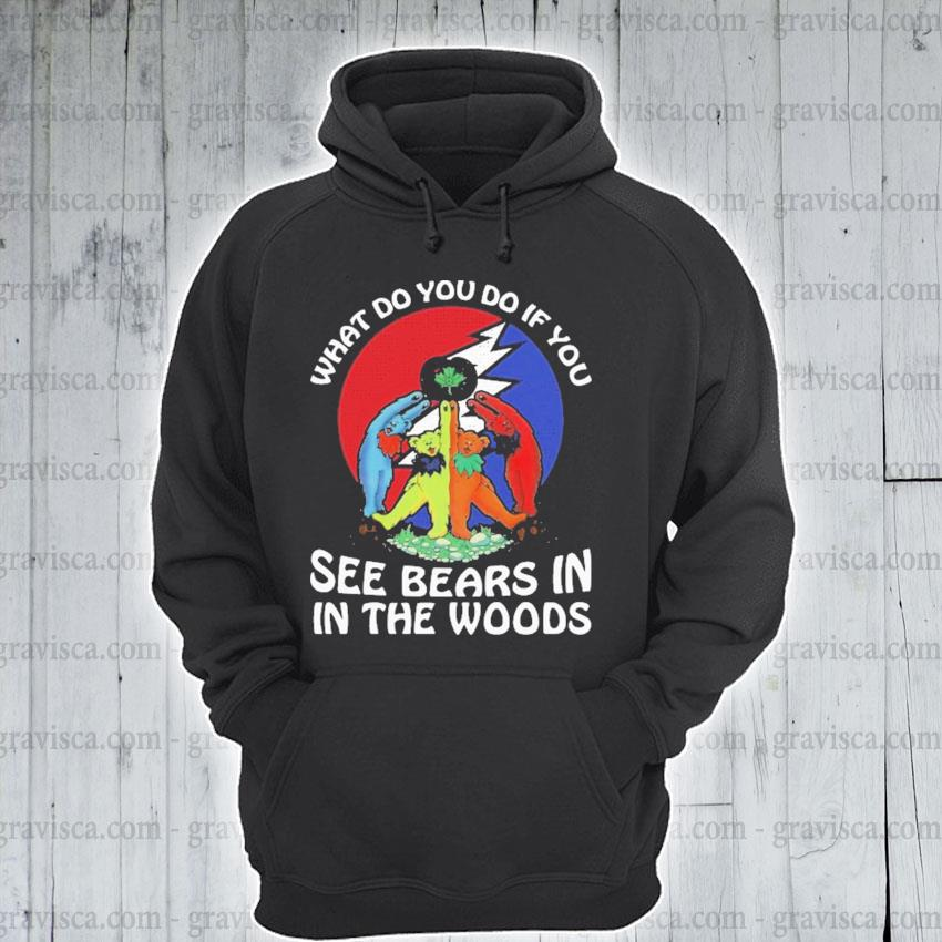 What do you If you see Bears In In the woods s hoodie