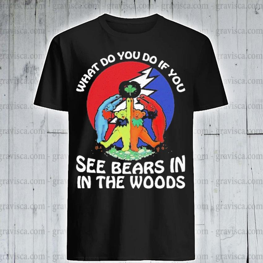 What do you If you see Bears In In the woods shirt